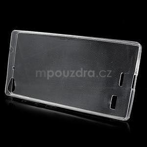 Gélový kryt na Lenovo Vibe X2 - transparentný - 2