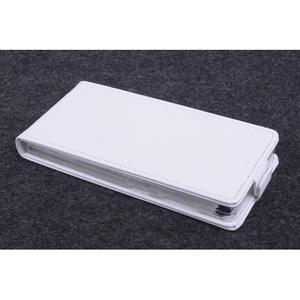 Flipové puzdro na mobil Lenovo Vibe X2 - biele - 2