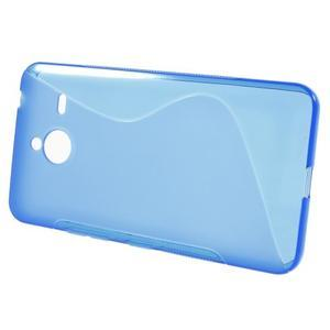 S-line gélový obal na Microsoft Lumia 640 XL - modrý - 2