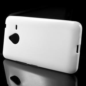 Biely gélový obal pre Microsoft Lumia 640 XL - 2
