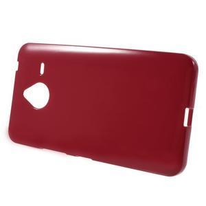 Červený gélový obal pre Microsoft Lumia 640 XL - 2