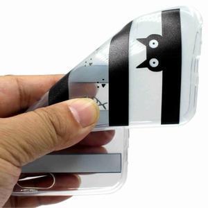 Emotive gélový obal na mobil Motorola Moto G6 Play - mačka - 2