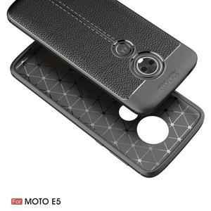 Texture odolný obal na Motorola Moto G6 Play - sivý - 2