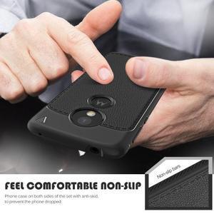 IVS odolný gélový obal na mobil Motorola Moto G6 Play - čierny - 2