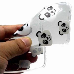 Emotive gélový obal na mobil Motorola Moto G6 Play - panda - 2