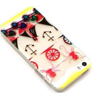 Fun gélový obal na iPhone 5s a iPhone 5 -kotva - 2