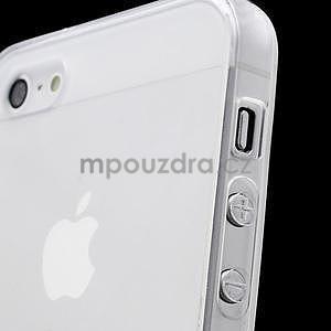 Transparentný gélový obal na iPhone 5 / 5s - 2