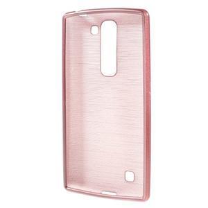 Brush gélový kryt na LG G4c H525N - ružový - 2