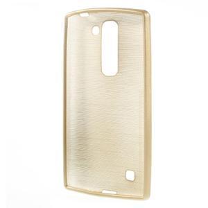 Brush gélový kryt pre LG G4c H525N - champagne - 2