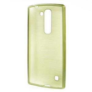 Brush gélový kryt pre LG G4c H525N - zelený - 2