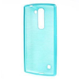 Brush gélový kryt na LG G4c H525N - modrý - 2