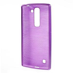 Brush gélový kryt pre LG G4c H525N - fialový - 2