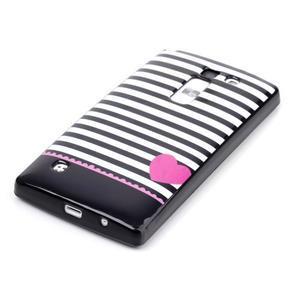 Soft gélové puzdro na LG G4c - srdce - 2