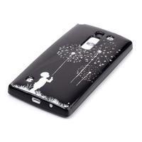 Soft gélové puzdro pre LG G4c - chlapček a púpavy - 2/3