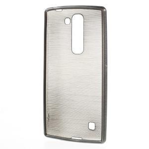 Brush gélový kryt na LG G4c H525N - šedý - 2