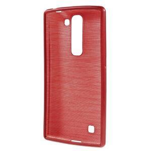 Brush gélový kryt na LG G4c H525N - červený - 2
