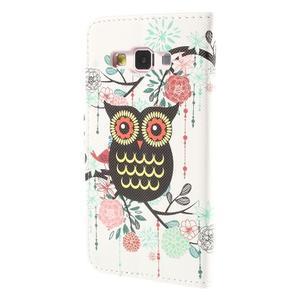 Puzdro na mobil Samsung Galaxy A3 - sova - 2