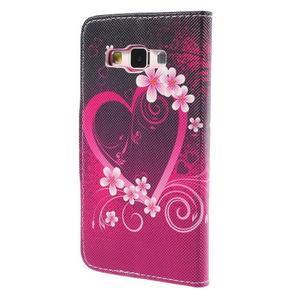 Puzdro na mobil Samsung Galaxy A3 - srdce - 2
