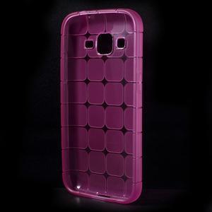 Square matný gélový obal pre Samsung Galaxy Core Prime - rose - 2