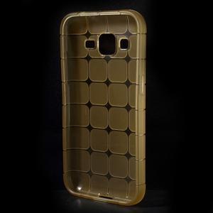 Square matný gélový obal pre Samsung Galaxy Core Prime - champagne - 2
