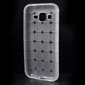 Square matný gélový obal pre Samsung Galaxy Core Prime - transparentný - 2