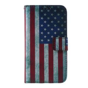 Puzdro na mobil Samsung Galaxy Core Prime - US vlajka - 2