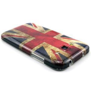Gélový obal pro Samsung Core Prime - UK vlajka - 2