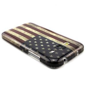 Gélový obal pro Samsung Core Prime - US vlajka - 2