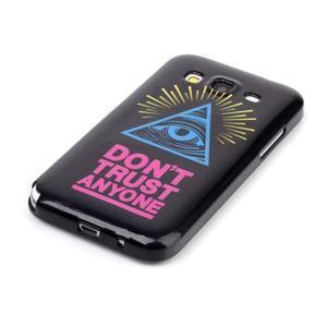 Gélový kryt pre mobil Samsung Galaxy Core Prime - oko - 2