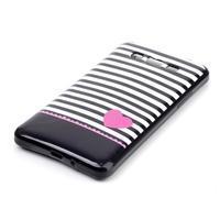 Jelly gélový obal na mobil Samsung Galaxy Grand Prime - srdce - 2/3
