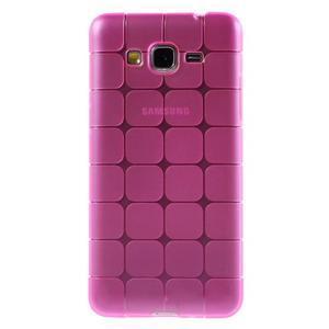 Square gélový obal na Samsung Galaxy Grand Prime - rose - 2