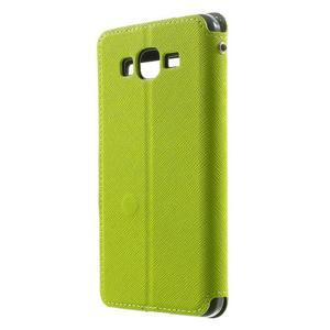 Safety puzdro s okienkom pre Samsung Galaxy Grand Prime - zelené - 2
