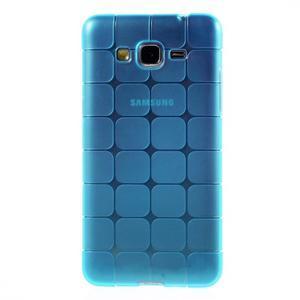 Square gélový obal pre Samsung Galaxy Grand Prime - modrý - 2