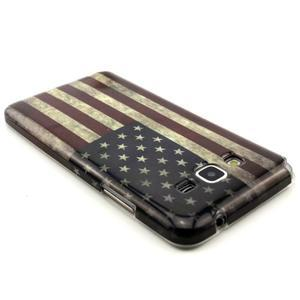 Gélový kryt na Samsung Grand Prime - US vlajka - 2