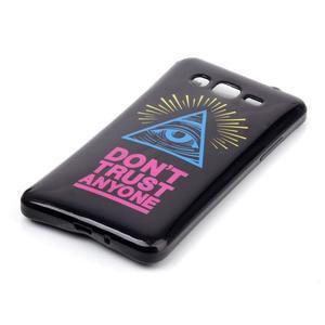 Jelly gélový obal na mobil Samsung Galaxy Grand Prime - oko - 2