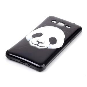 Jelly gélový obal na mobil Samsung Galaxy Grand Prime - panda - 2