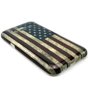 Stylový gélový kryt na Samsung Galaxy J5 -  US vlajka - 2