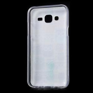 Gélové puzdro na mobil pre Samsung Galaxy J5 - sovičky - 2