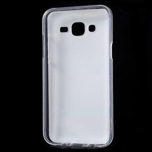Gélové puzdro na mobil pre Samsung Galaxy J5 - farby dreva - 2