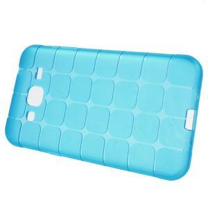Square matný gélový obal na Samsung Galaxy J5 - modrý - 2