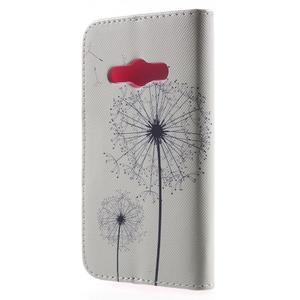 Vzorové peňaženkové puzdro na Samsung Galaxy Xcover 3 - odkvitnutá púpava - 2