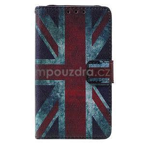 Štýlové peňaženkové puzdro pre Samsung Galaxy Xcover 3 - UK vlajka - 2