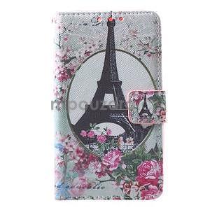 Štýlové peňaženkové puzdro pre Samsung Galaxy Xcover 3 - Eiffelova veža - 2
