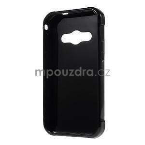 Leklý gélový kryt na Samsung Galaxy Xcover 3 - čierný - 2