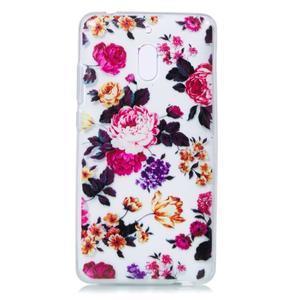 Patt silikónový kryt na mobil Nokia 2.1 - kvetinky - 2