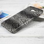 Hardy plastový obal pre Samsung Galaxy A3 (2017) - hadia koža - 2/3