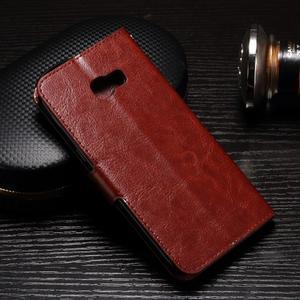 Francis peňaženkové puzdro pre Samsung Galaxy A5 (2017) - hnedé - 2