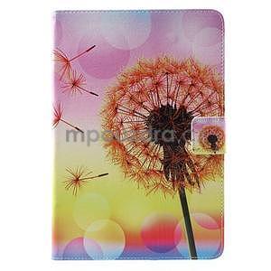 Ochranné puzdro pre Samsung Galaxy Tab A 9.7 - oranžová púpava - 2