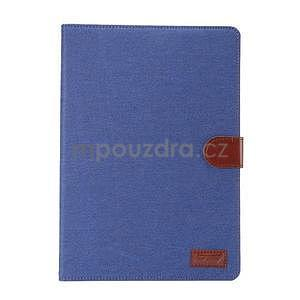 Jeans pouzdro na tablet Samsung Galaxy Tab A 9.7 - modré - 2