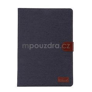 Jeans pouzdro na tablet Samsung Galaxy Tab A 9.7 - černomodré - 2